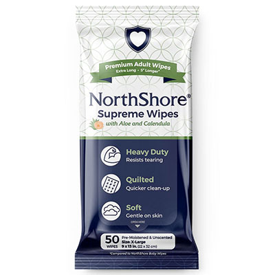 NorthShore Supreme Heavy-Duty Quilted Wipes