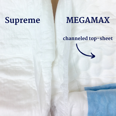 NorthShore Supreme and MEGAMAX cores side by side