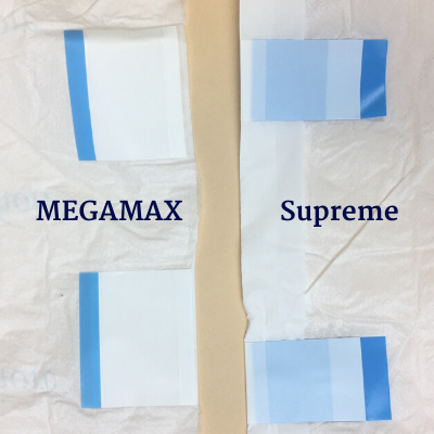MEGAMAX and Supreme tabs side by side