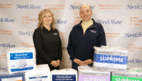 New NorthShore directors, Vicki and John with NorthShore adult diapers