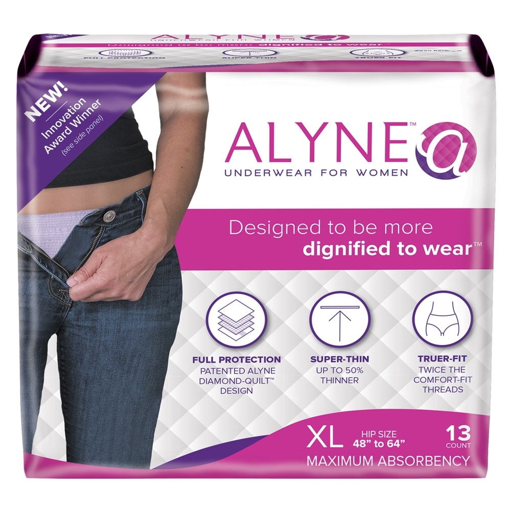 Alyne Ultra-Thin Underwear for Women, X-Large