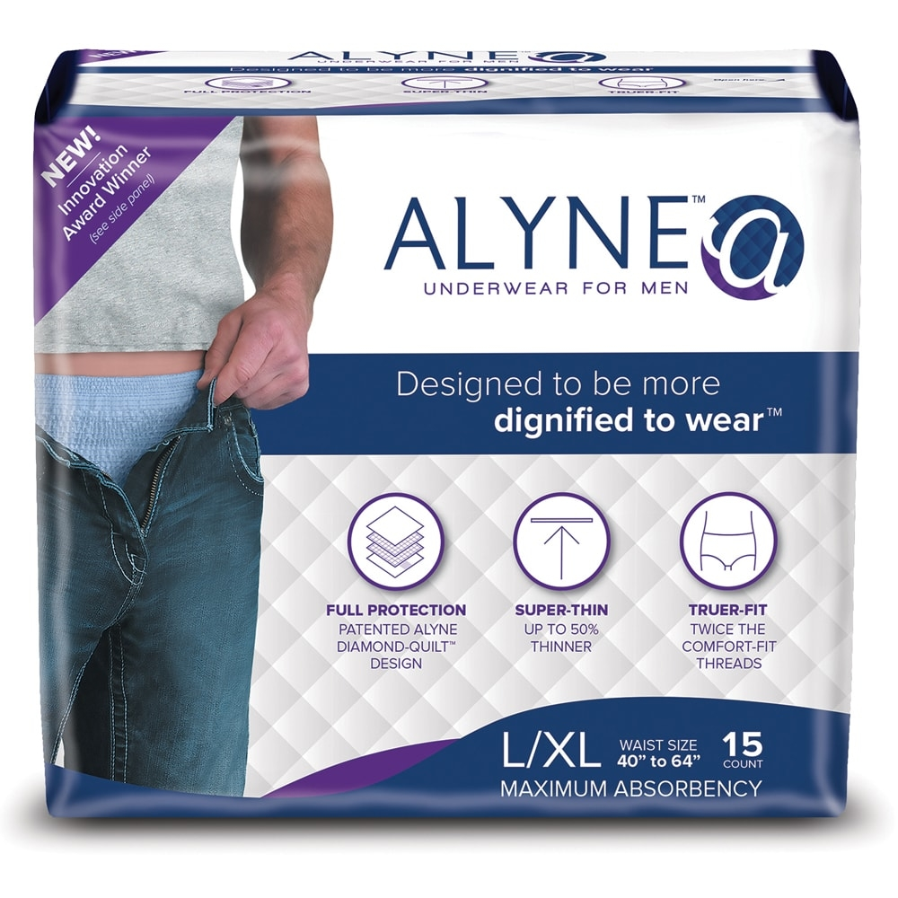 Alyne Ultra-Thin Underwear for Men, Large/X-Large