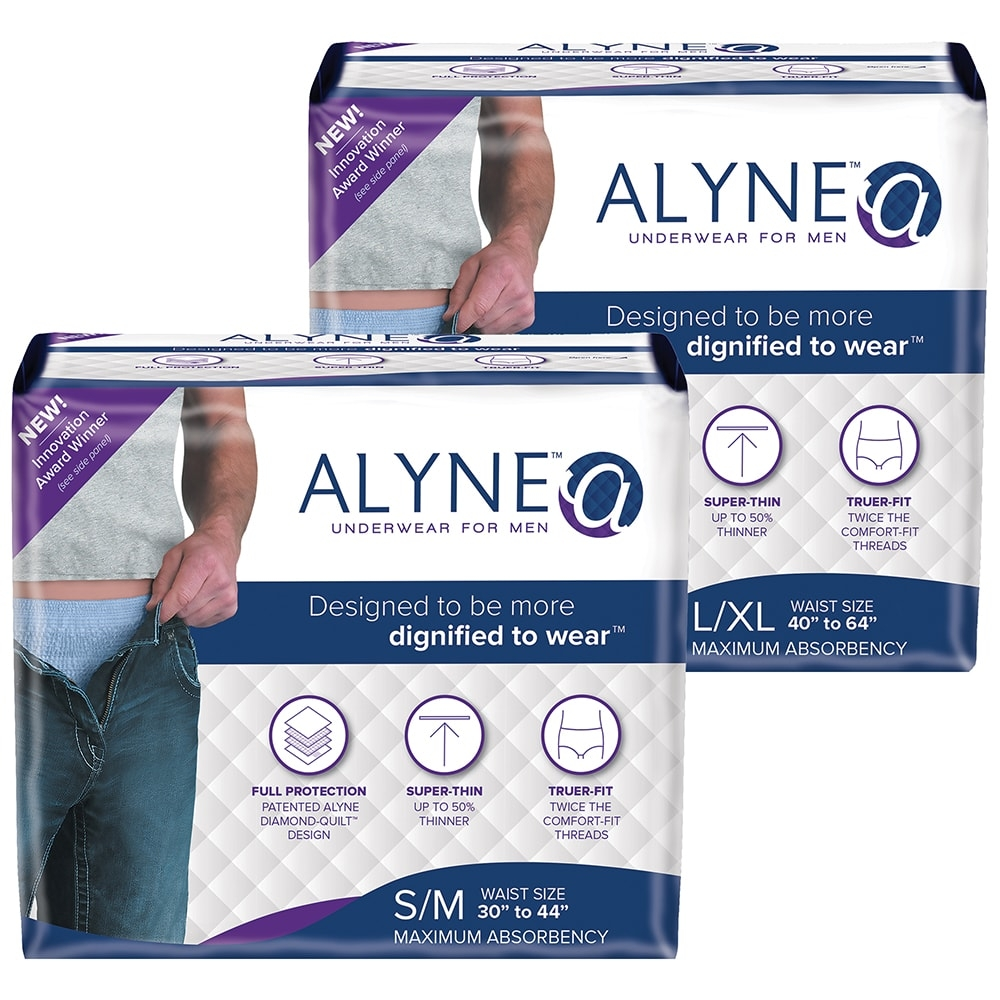 d3b9b3e9ffce Alyne Ultra-Thin Protective Underwear for Men | Adult Diapers