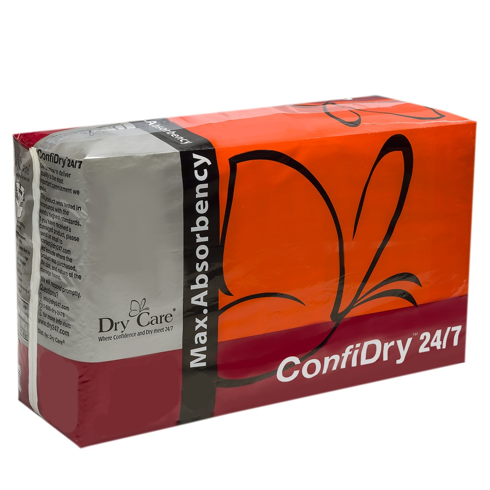 ConfiDry 24/7 Max Absorbency Tab-Style Briefs