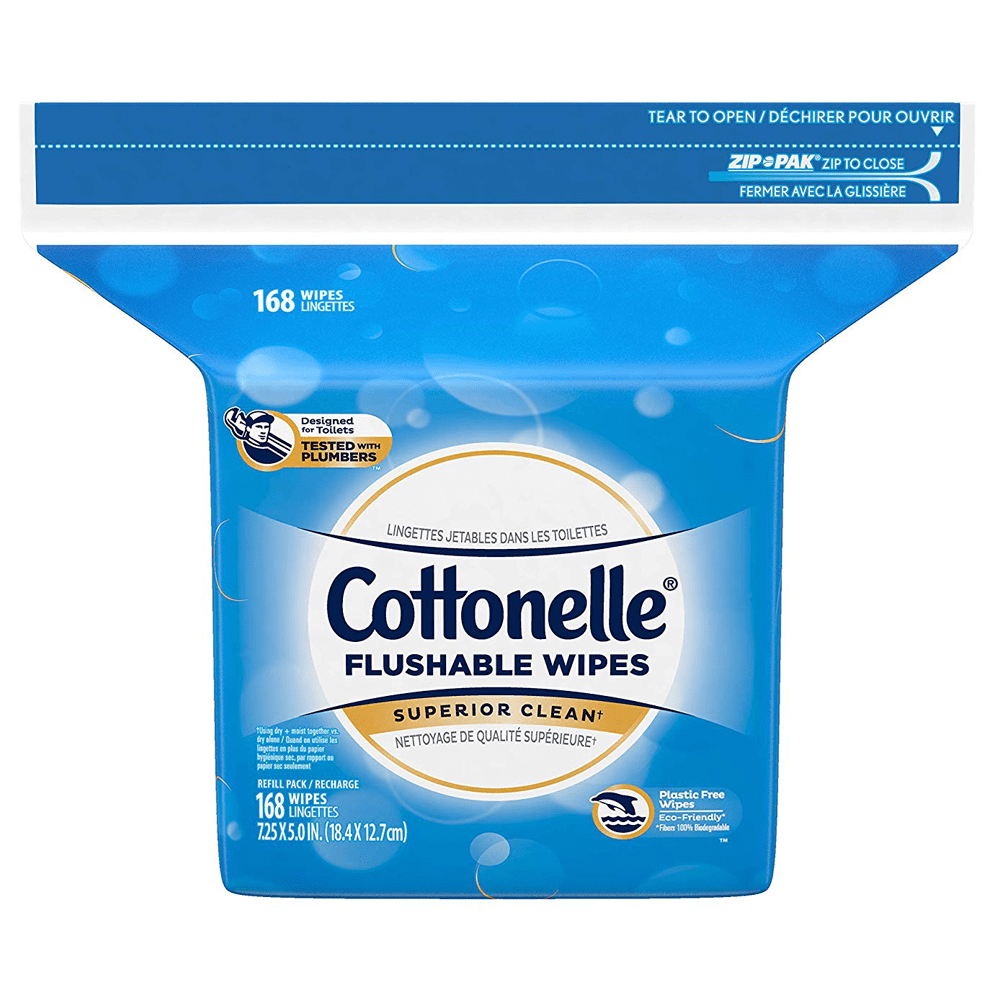 Cottonelle Fresh Flushable Wipes