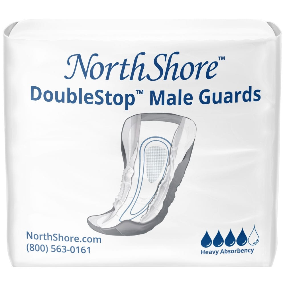 NorthShore DoubleStop Male Guards, Package
