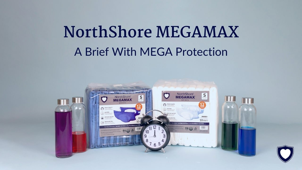 The Adult Diaper with MEGA Protection | NorthShore MEGAMAX