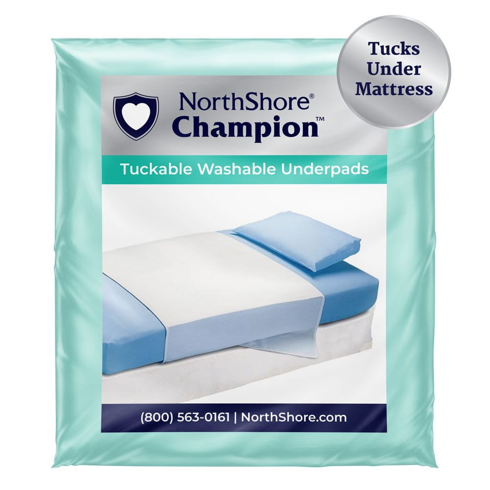 NorthShore Champion Tuckable Washable Underpads