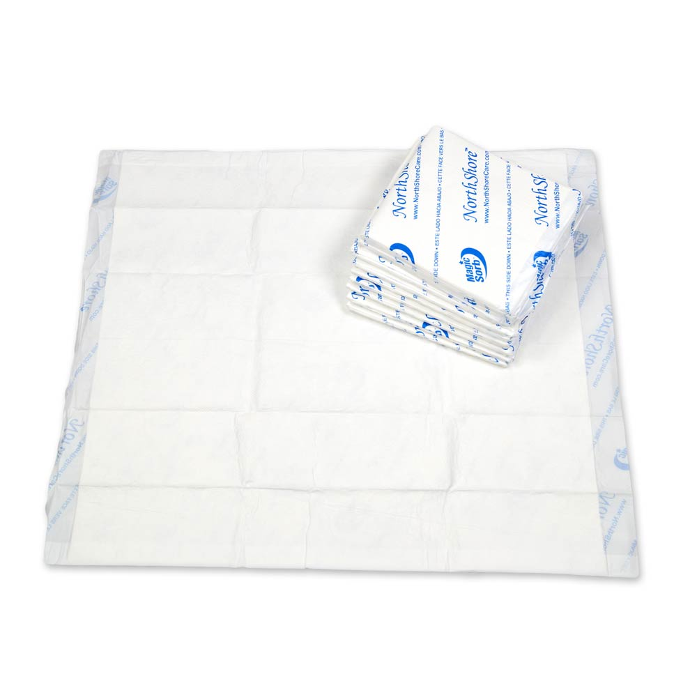 NorthShore MagicSorb Air Breathable Disposable Underpads, X-Large