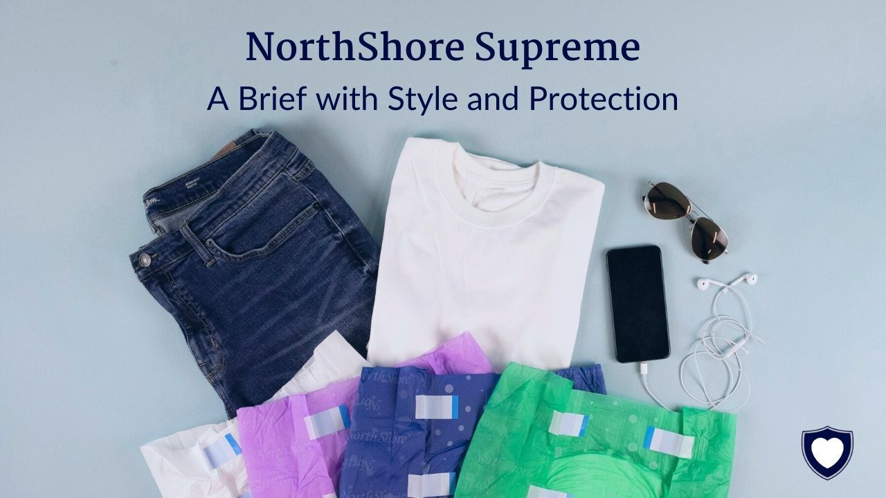 NorthShore Supreme Briefs: The Adult Diapers with Style and Protection